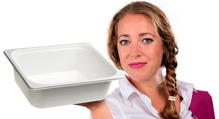 Gastronormserie Spritzguss. 50 mm, 60 mm, 80 mm, 100 mm