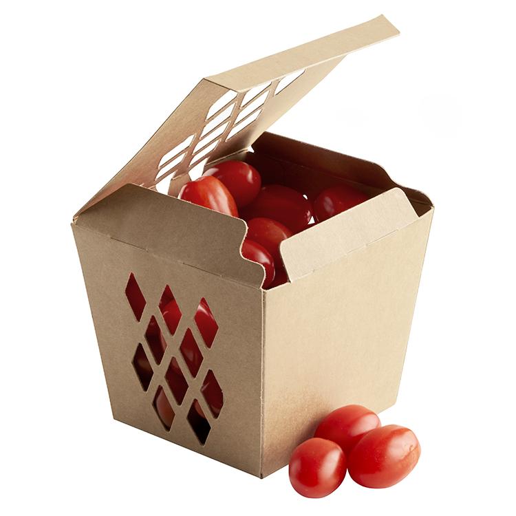 Verpackung von Snack-Gemüse